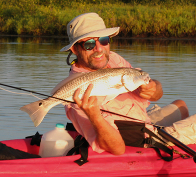 Redfish-from-Kayak