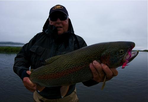 Goodnews river lodge alaska fishing report for Lake wilhelm fishing