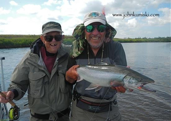 Fishing report, goodnews river