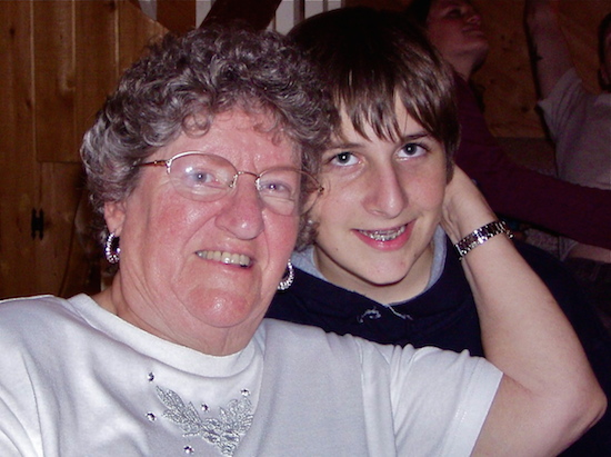 Mom with Alex.