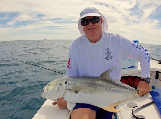 Finger jack the spotted tail for Port canaveral fishing