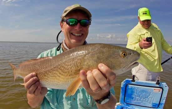 Weir redfish the spotted tail for Port canaveral fishing report