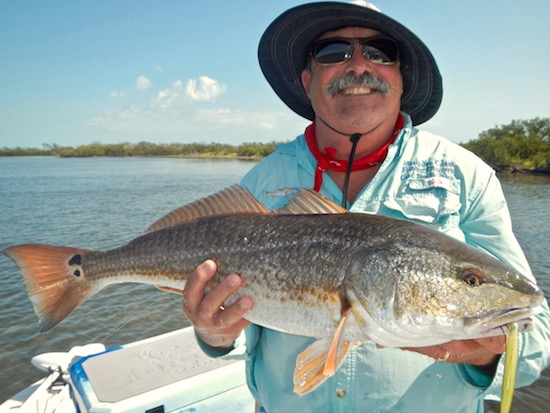 Blowing winds mosquito lagoon fishing report microskiff for Mosquito lagoon fishing report