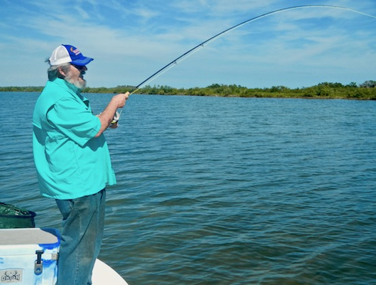 John kumiski mosquito lagoon capmel for Mosquito lagoon fishing